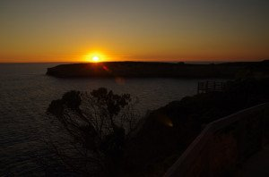 Sunset from 'The Arch' Port Campbell