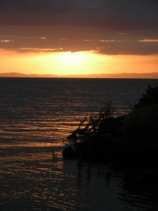 Sunset at Thames on the Coromandel
