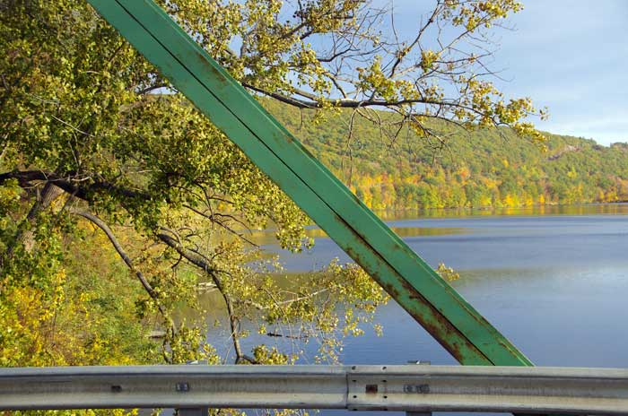 Looking South down the Connecticut River from the Brattleboro Bridge