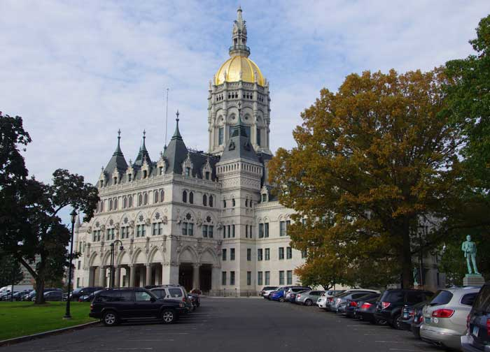 The Connecticut State Capital Building