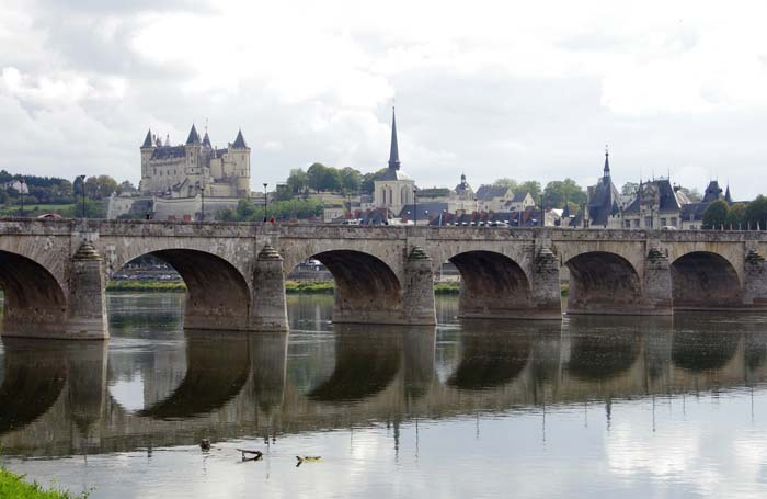 Saumur with its fortress